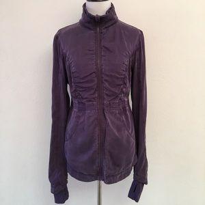 Lululemon Purple Full Zip Jacket Size 4